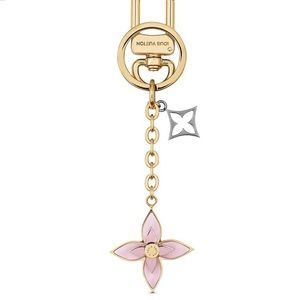BLOOMING FLOWERS BB BAG CHARM AND K…